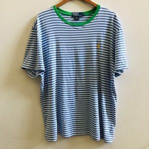POLO RALPH LAUREN ringer stripe T-shirt XL
